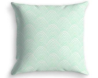 Scandinavian Alen green cushion