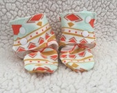 Baby Girl Booties or Boots- Tribal Study Aura