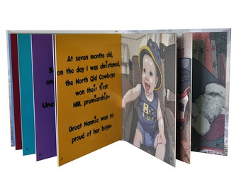 Tailor Made Tales - personalised story illustrated with YOUR photos (6x6 SCRUNCH-PROOF pages)