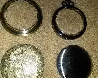 Empty Pocket Watch Cases