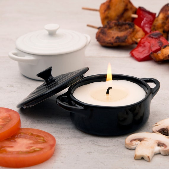 Barbecue Scented Candle In A Casserole Dish