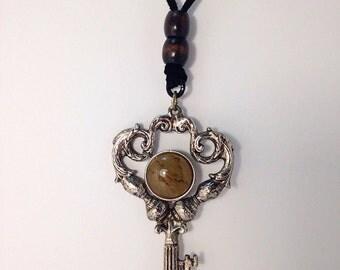 Giant Key Necklace