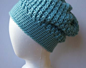 Jenny Crochet Slouchy Hat
