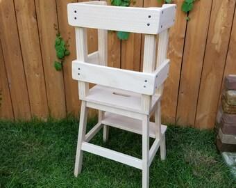 Montessori Style Learning Tower / Stool / Kitchen Helper