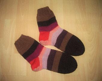 Thick socks, wool socks, hand knitted, Gr. 39 / 40