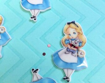 Alice in Wonderland Cabochons