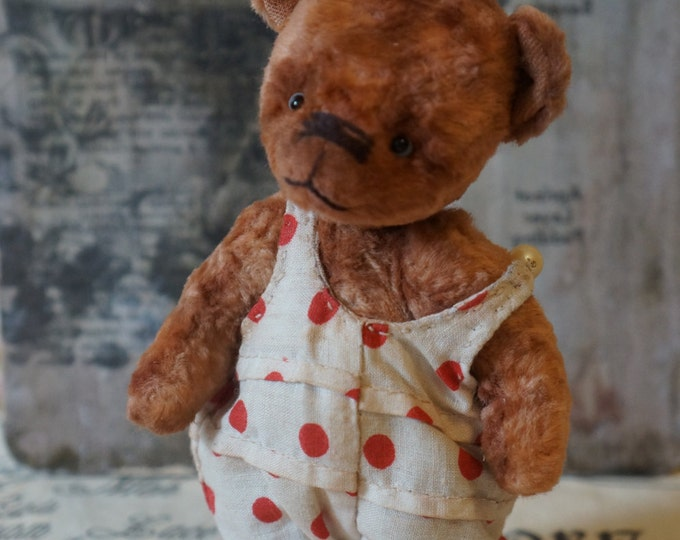 Teddy bear with sawdust, OOAK art teddy bear, Teddy bear, Bear OOAK teddy, Popular artist bears
