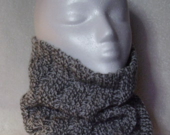 Gray Cowl for Him or Her