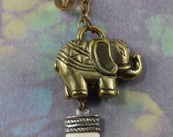 Antique Brass Pachyderm