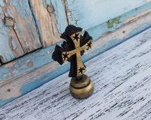 Standing Cross, Wood Stand Cross, Wood Cross Decor,Decorative Cross,Handcrafted Cross,Christian Decor,Religious Cross,Unique Cross Art Gift