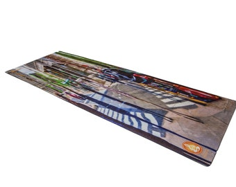 Free Shipping and Only 30 Dollars Artist Designed Yoga Mat-Great Holiday Gift!!!!