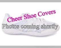 Cheer Shoe Covers - Handmade - youth Size 1-6