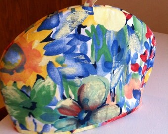Garden Tea Cosy, bright and cheery to keep your teapot hot!