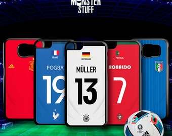 Soccer custom phone box, phone cases with the drawing of your favorite team, your favorite play if football is your passion