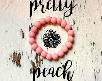 Inner-Beauty Bracelet - Pretty Peach