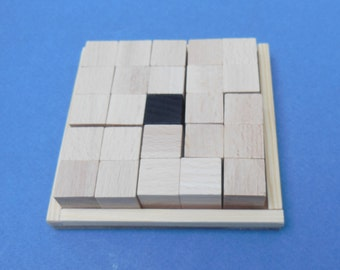 Everywhere - Wooden puzzle with 6 challenges