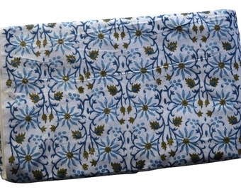 1 to 50 Yard Indian Hand Block Printed Cotton Floral Fabric