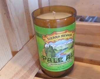 Beer bottle candle sierra nevada mancave