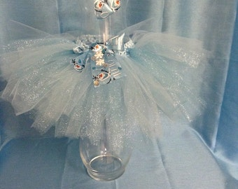 Frozen Tutu and Bow