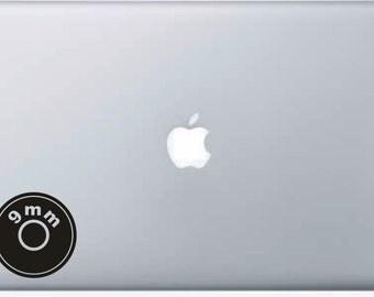 Laptop Decal 9mm Bullet Case