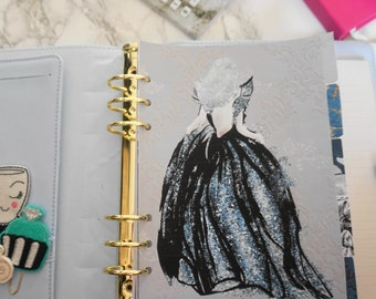 midnight-princess-a5-personal-printed-laminated-planner-dividers