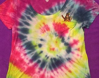Tie Dye Hippie Tee