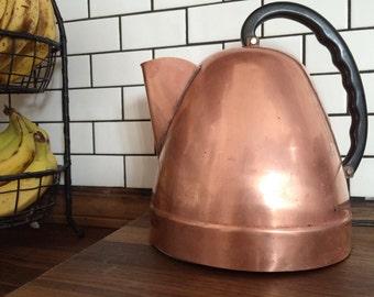 Vintage Westinghouse Copper Electric Kettle