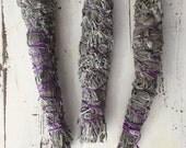 Lavender/sage smudge stick