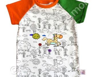 Coloring shirts | Etsy