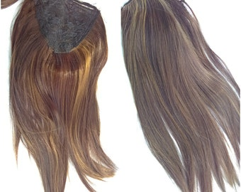 Thick Bundle Futura Hair Weft Synthetic Doll Wig Making