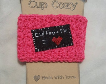 Coffee and Tea Cup Cozy