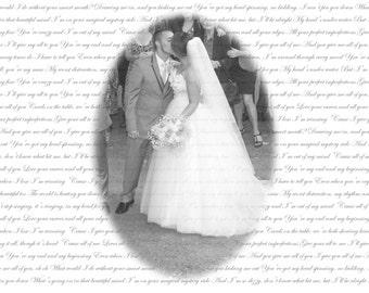 Wedding Print