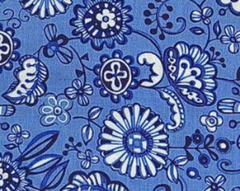 SALE Fabric - P & B Textiles - Meridian Floral - Cotton fabric by the yard(s)
