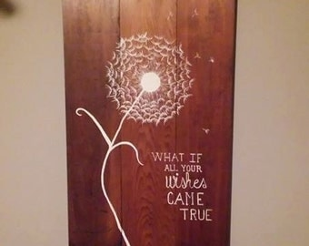 Reclaimed wooden wall decor