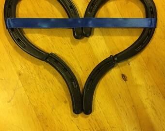 Thin Blue Line Heart