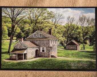 Washington's Headquarters - Valley Forge Park - Postcard