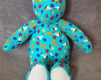 Stars & Sailor Themed Soft Cotton Bear