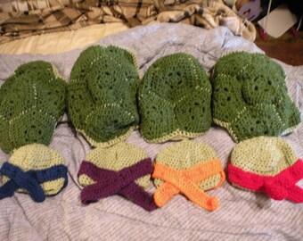 Turtle Crochet Set