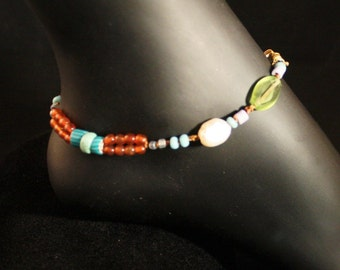 Bohemian Style Anklet - Ships Free - WR9