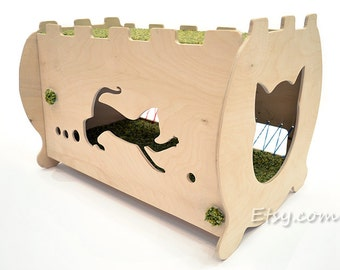 Сat house for beautiful cat