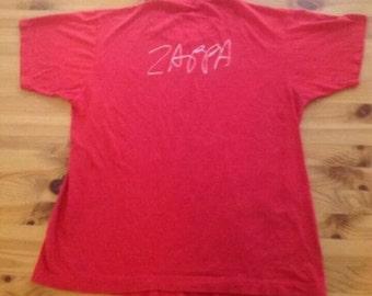 Frank Zappa Vintage T-Shirt Thing Fish 1984 Large