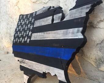 Thin Blue Line - USA