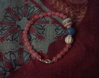 Silver plated beauty bracelet