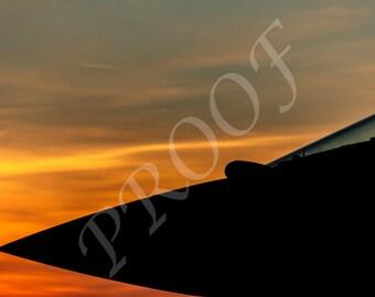 Sunset Typhoon Canvas