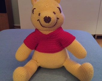 Crocheted Winnie the Pooh