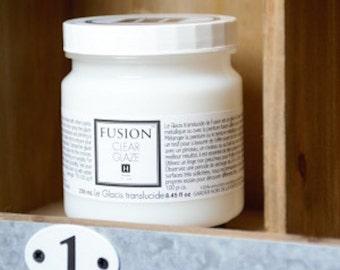 Clear Glaze by Fusion Mineral Paint - No VOC's -  250 mL