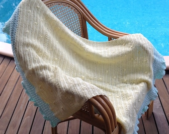 Crotchet Baby blanket hand made