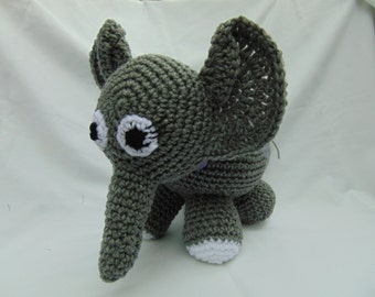 Adorable Amigurumi Elephant
