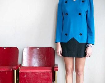 Vintage 60s Givenchy bicolor dress
