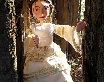 Marionettes Princess Obidos Gold Puppet String Marionette
